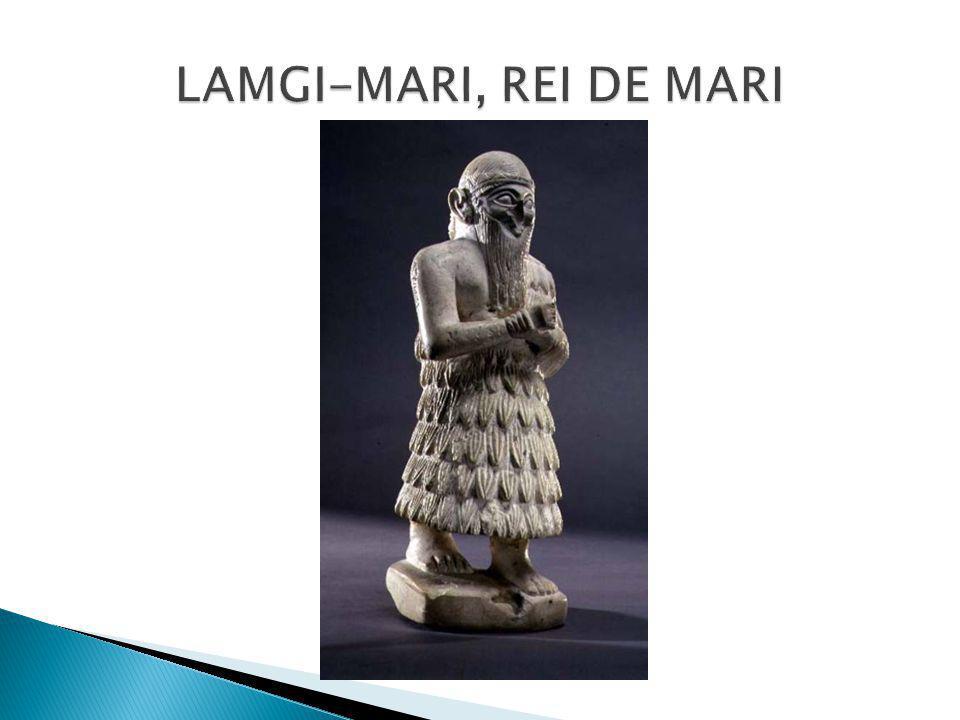 LAMGI-MARI, REI DE MARI