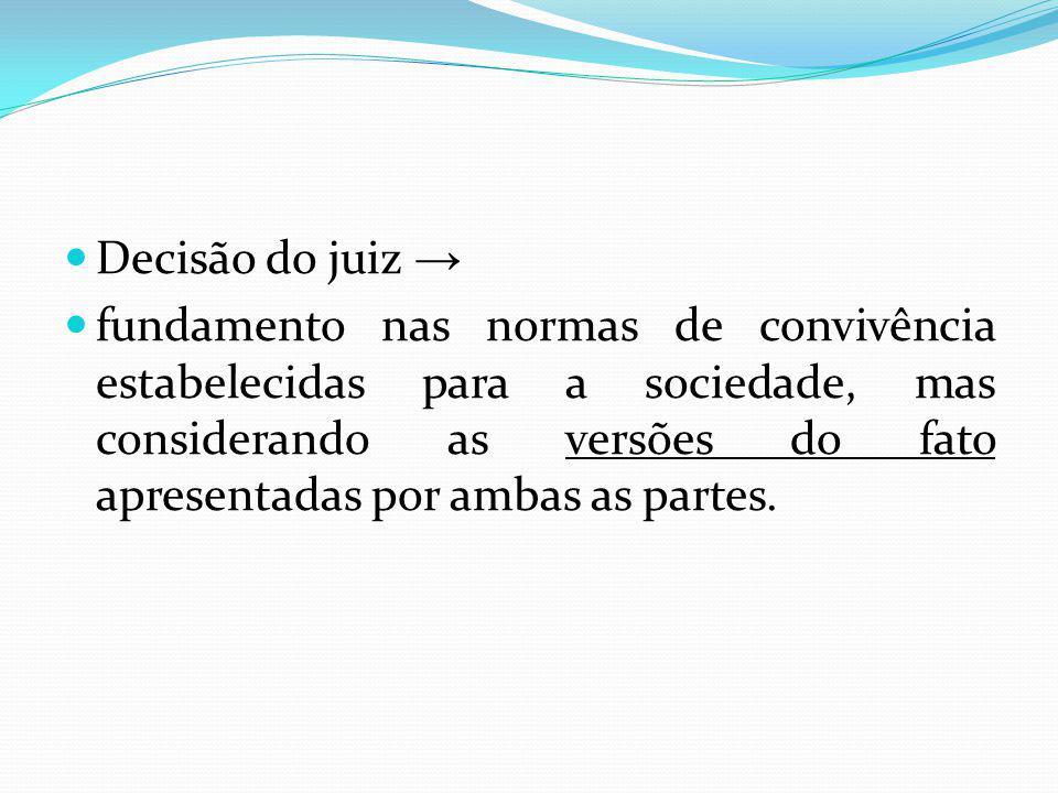 Decisão do juiz →