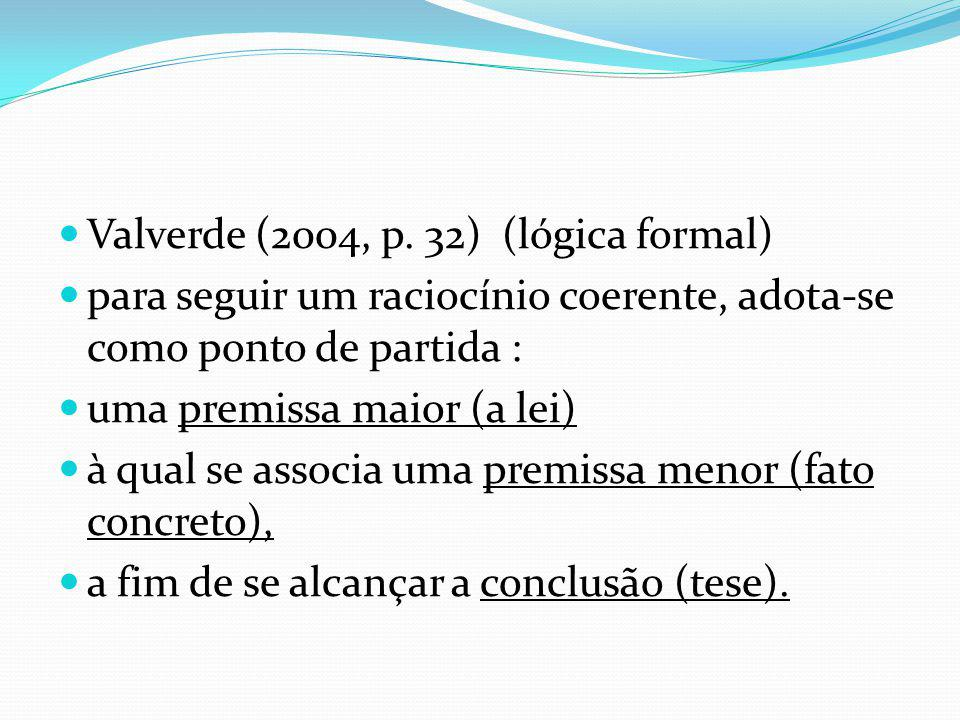 Valverde (2004, p. 32) (lógica formal)