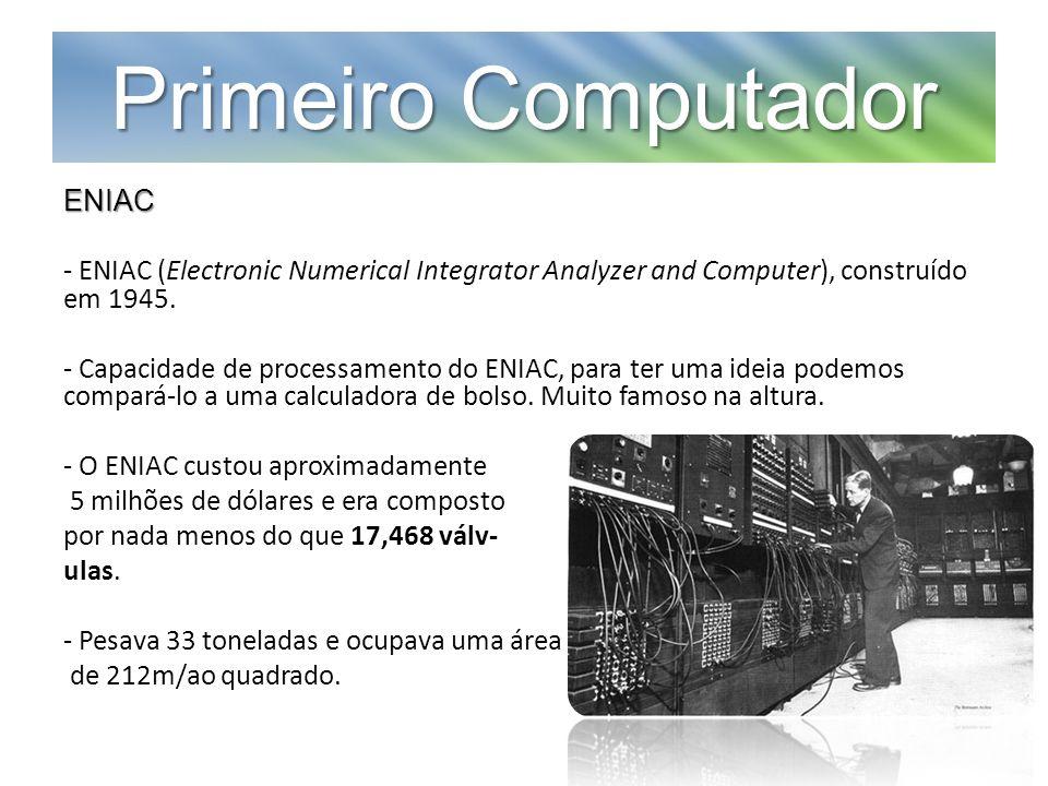Primeiro Computador