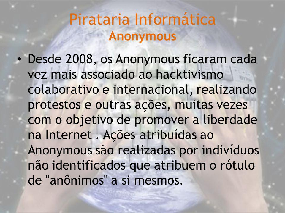 Pirataria Informática Anonymous