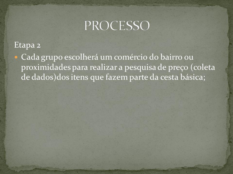 PROCESSO Etapa 2.