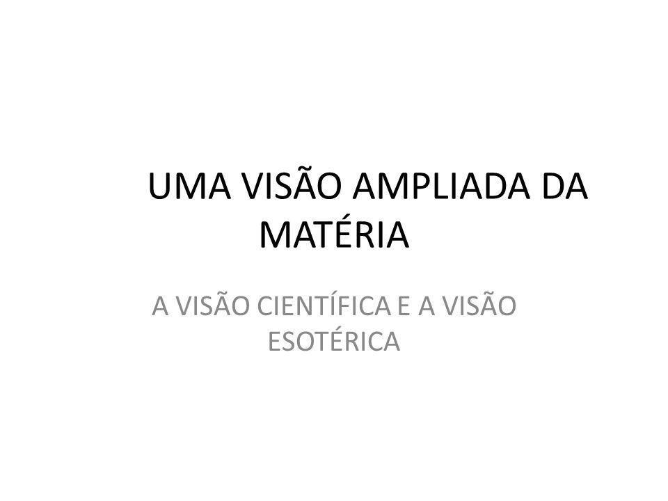 UMA VISÃO AMPLIADA DA MATÉRIA