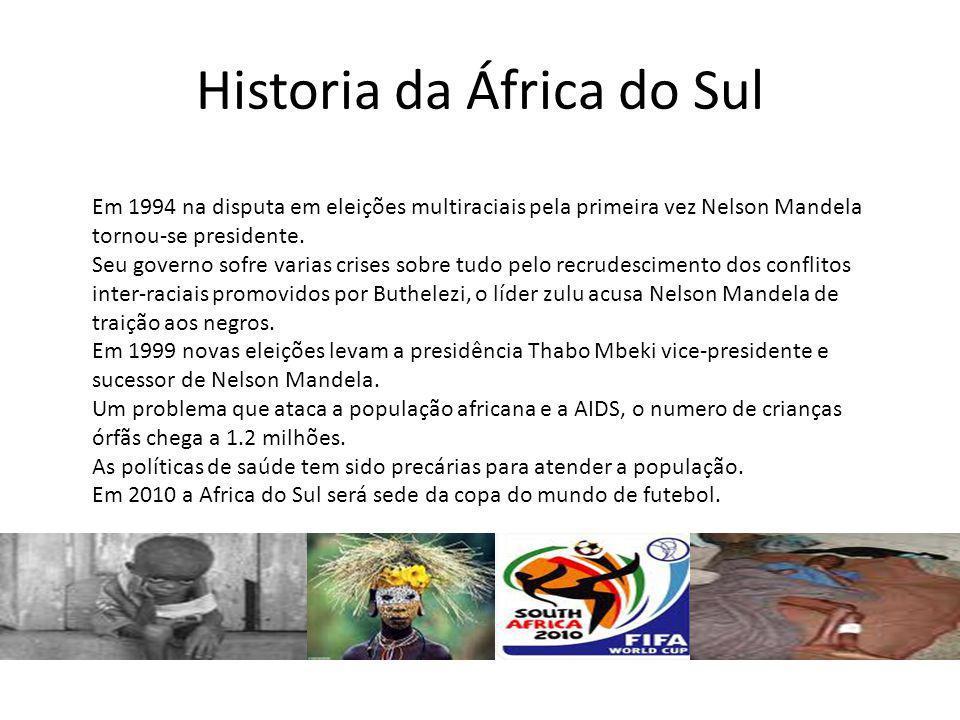 Historia da África do Sul