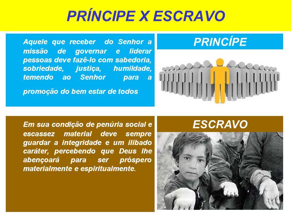 PRÍNCIPE X ESCRAVO PRINCÍPE ESCRAVO