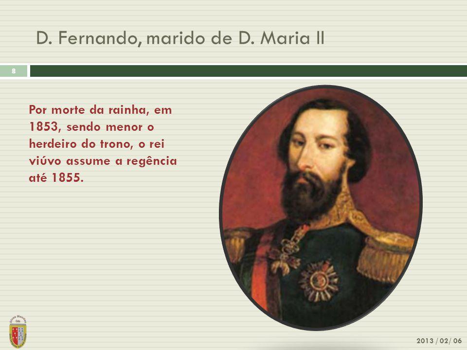 D. Fernando, marido de D. Maria II