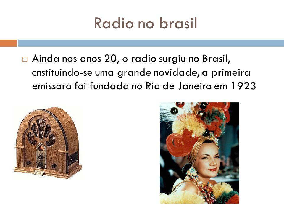 Radio no brasil