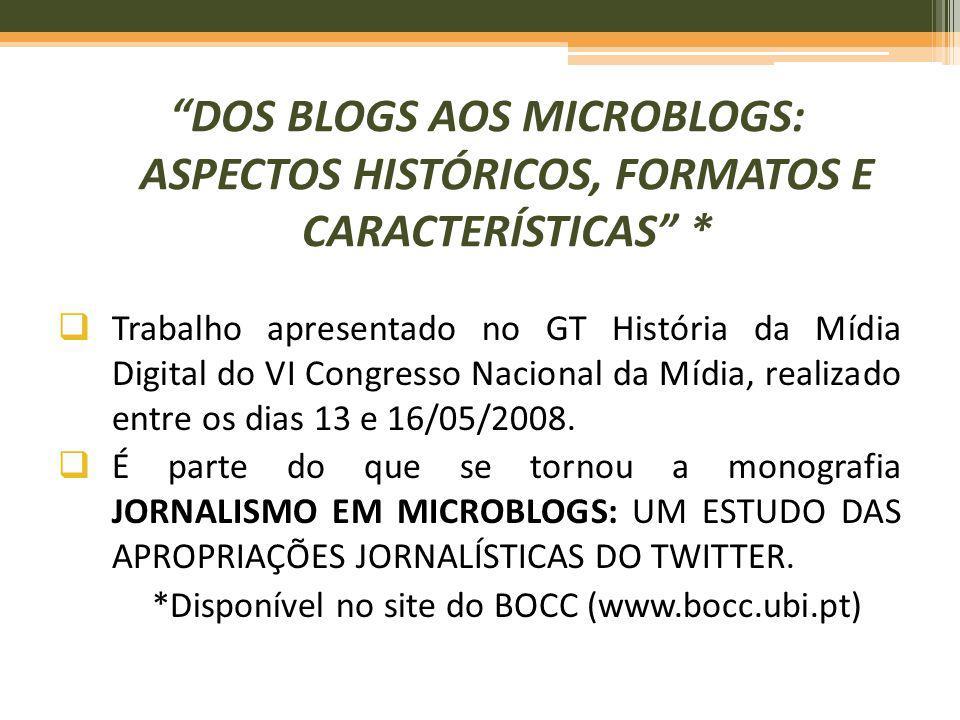 *Disponível no site do BOCC (www.bocc.ubi.pt)