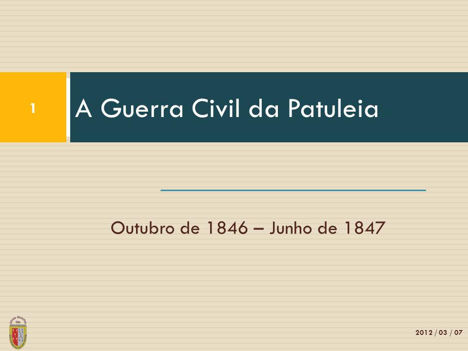 A Guerra Civil da Patuleia
