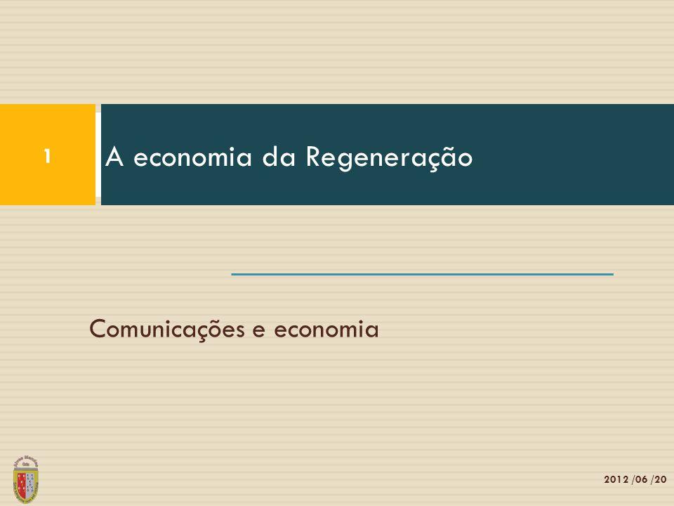 A economia da Regeneração