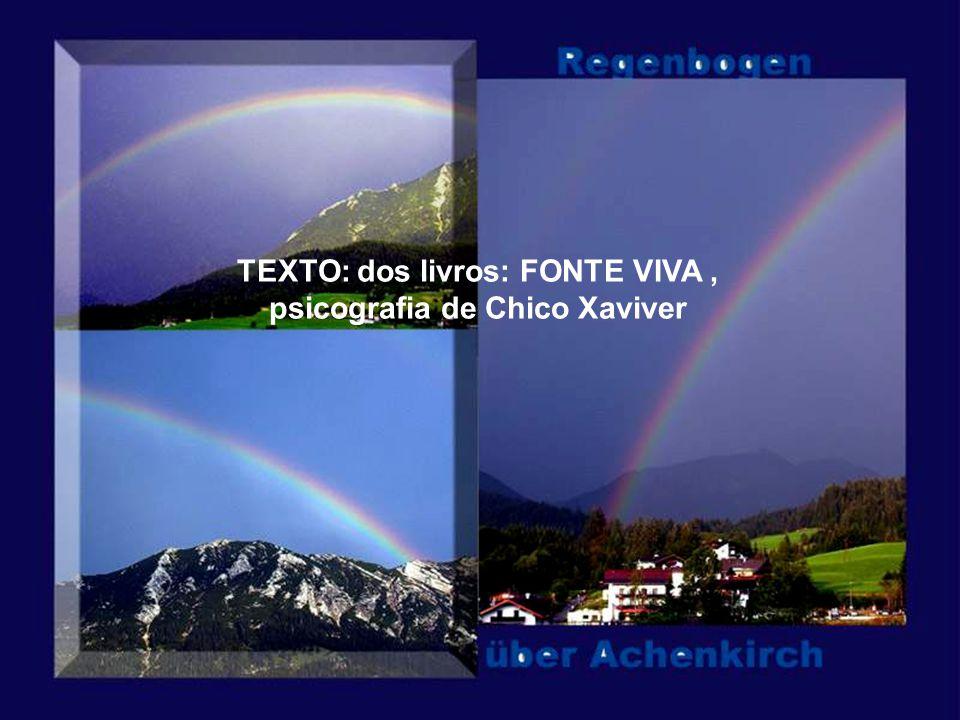 TEXTO: dos livros: FONTE VIVA , psicografia de Chico Xaviver