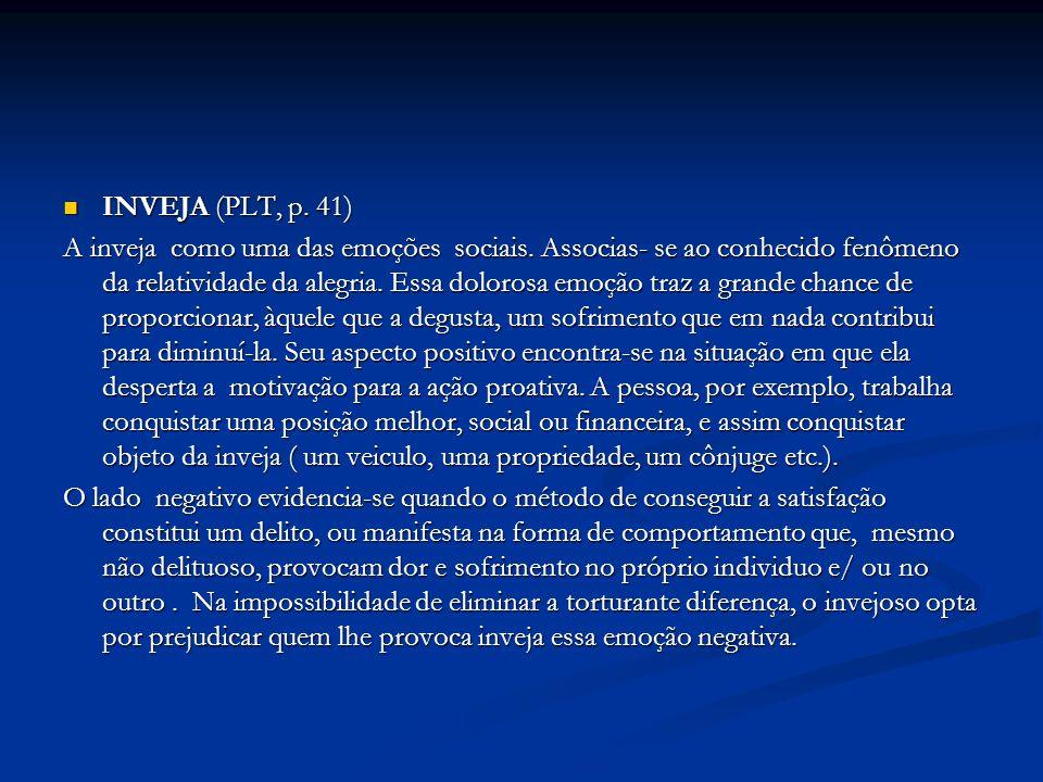 INVEJA (PLT, p. 41)