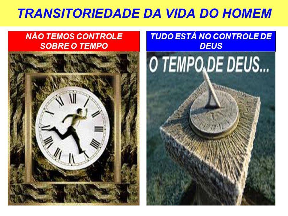 TRANSITORIEDADE DA VIDA DO HOMEM