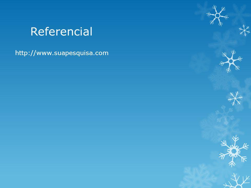 Referencial http://www.suapesquisa.com