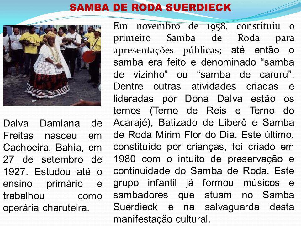 SAMBA DE RODA SUERDIECK