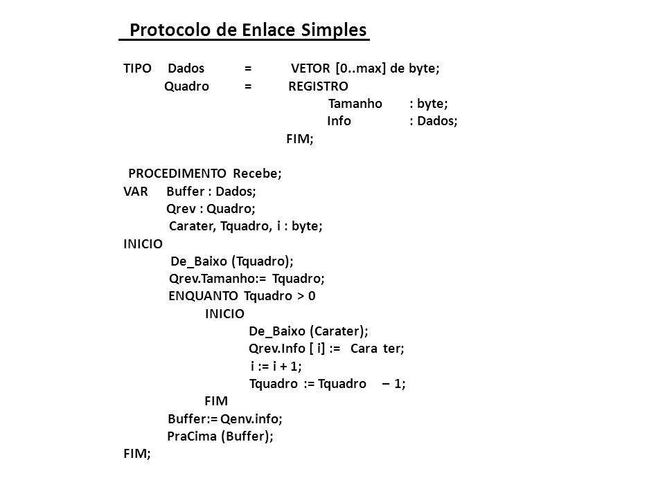 Protocolo de Enlace Simples