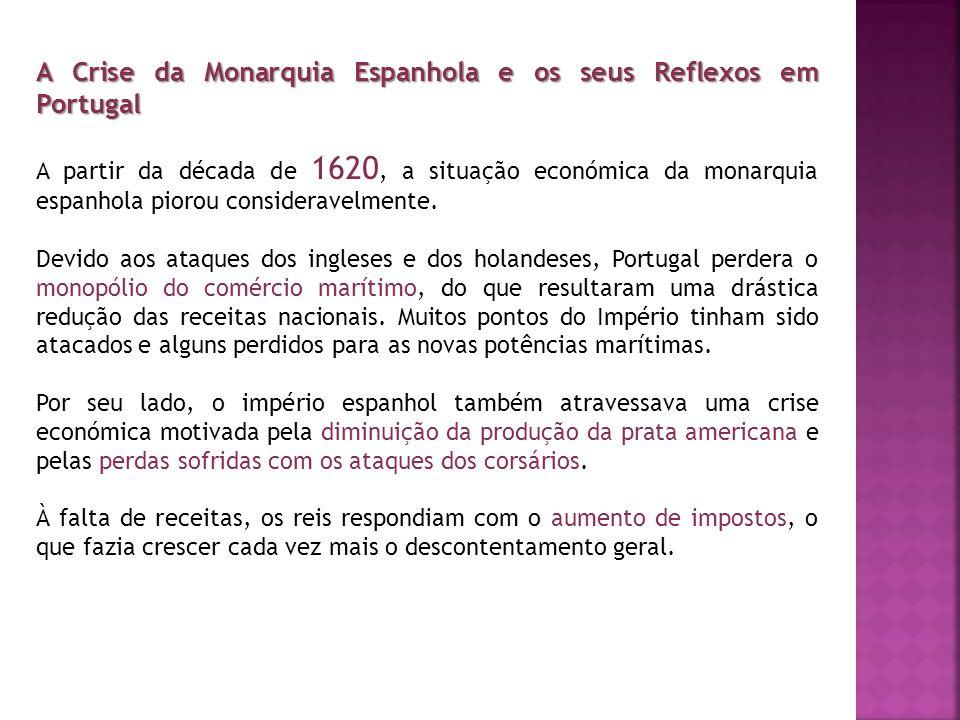 A Crise da Monarquia Espanhola e os seus Reflexos em Portugal