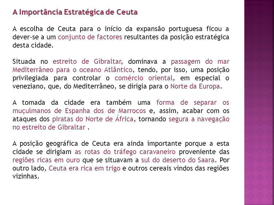 A Importância Estratégica de Ceuta
