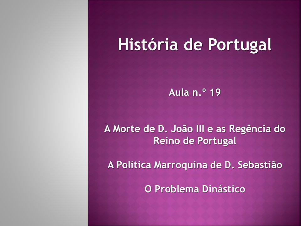 História de Portugal Aula n.º 19
