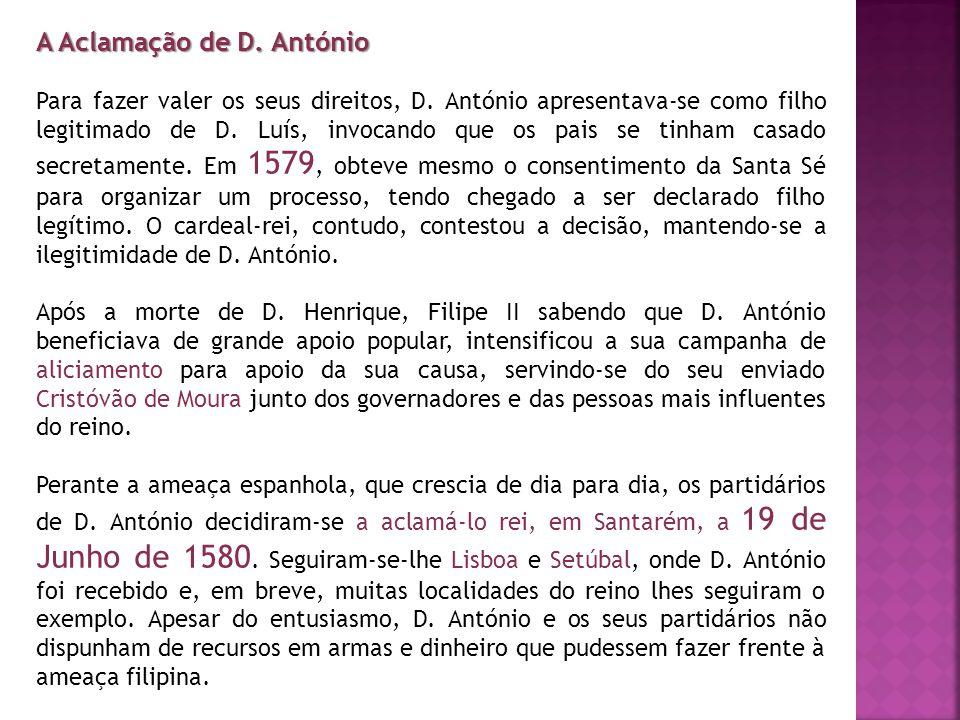 A Aclamação de D. António