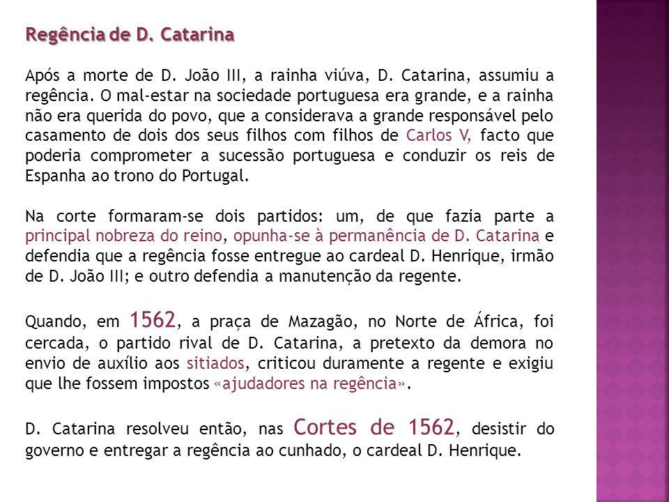 Regência de D. Catarina