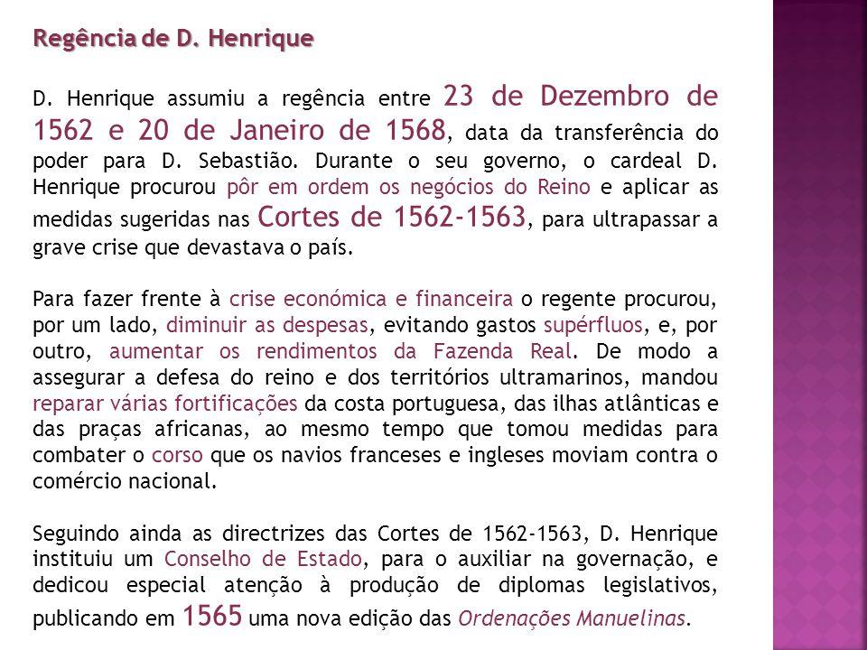 Regência de D. Henrique