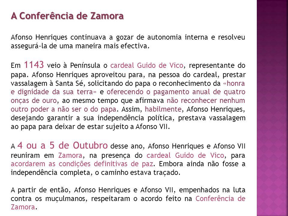 A Conferência de Zamora