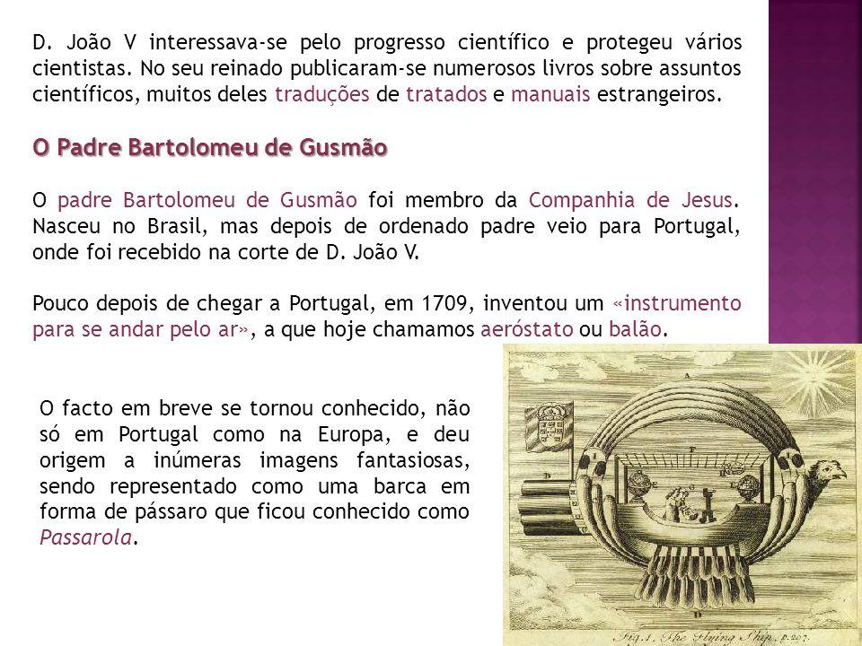 O Padre Bartolomeu de Gusmão