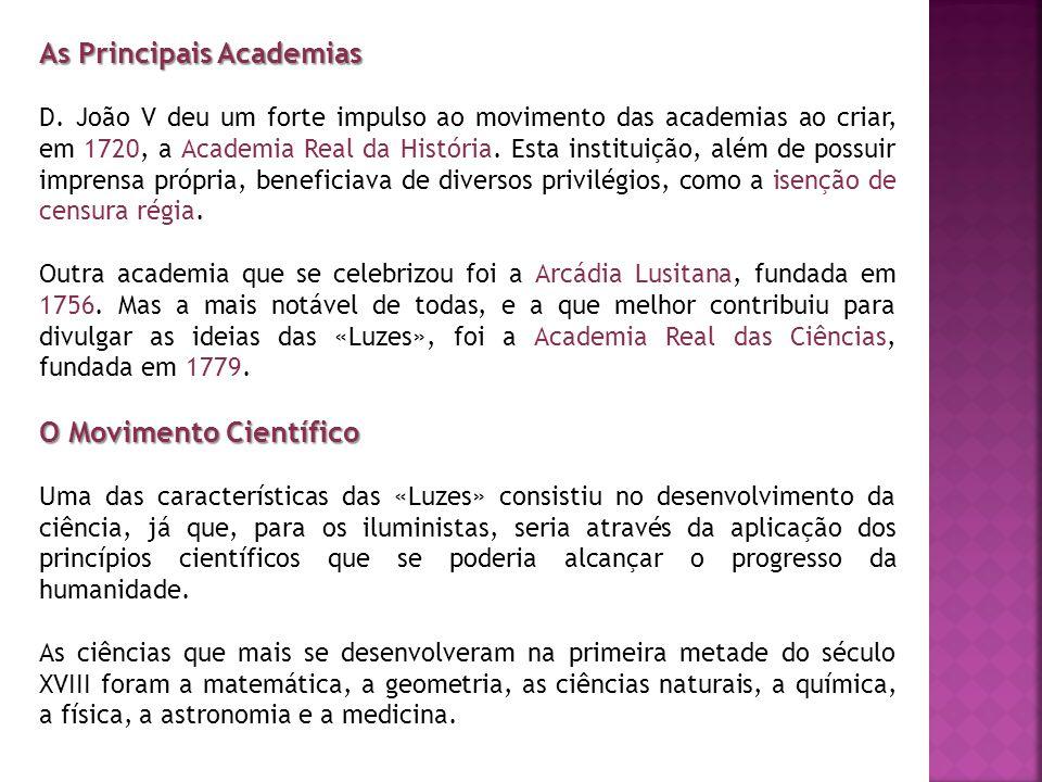 As Principais Academias