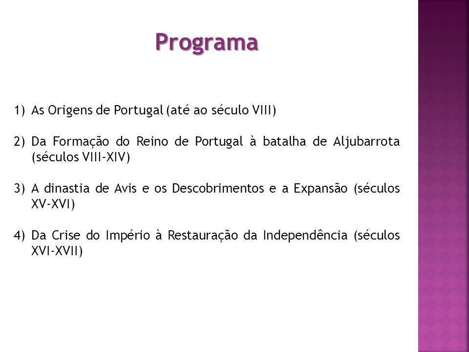 Programa As Origens de Portugal (até ao século VIII)