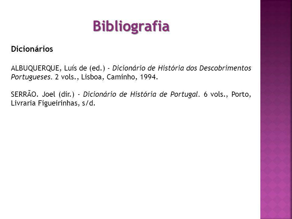 Bibliografia Dicionários