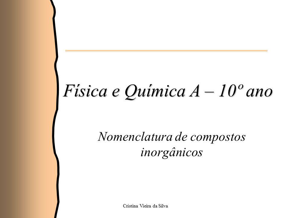 Física e Química A – 10º ano