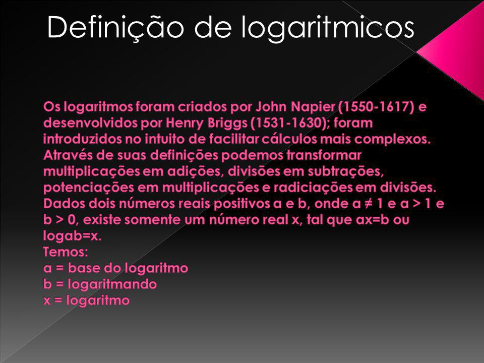 Definição de logaritmicos