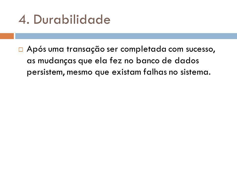 4. Durabilidade