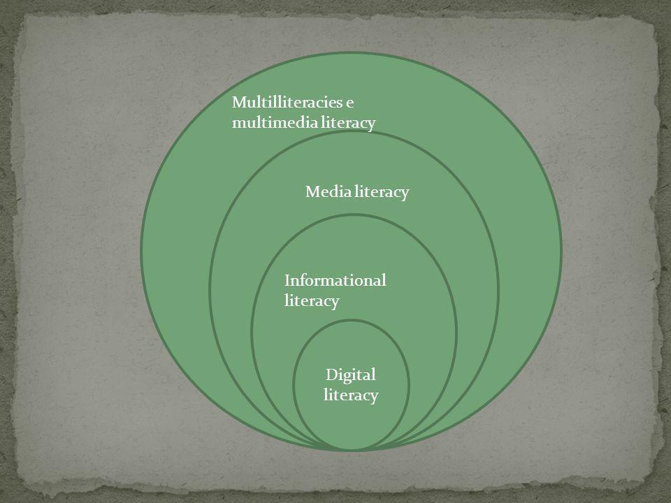 Multil Multilliteracies e multimedia literacy. M.