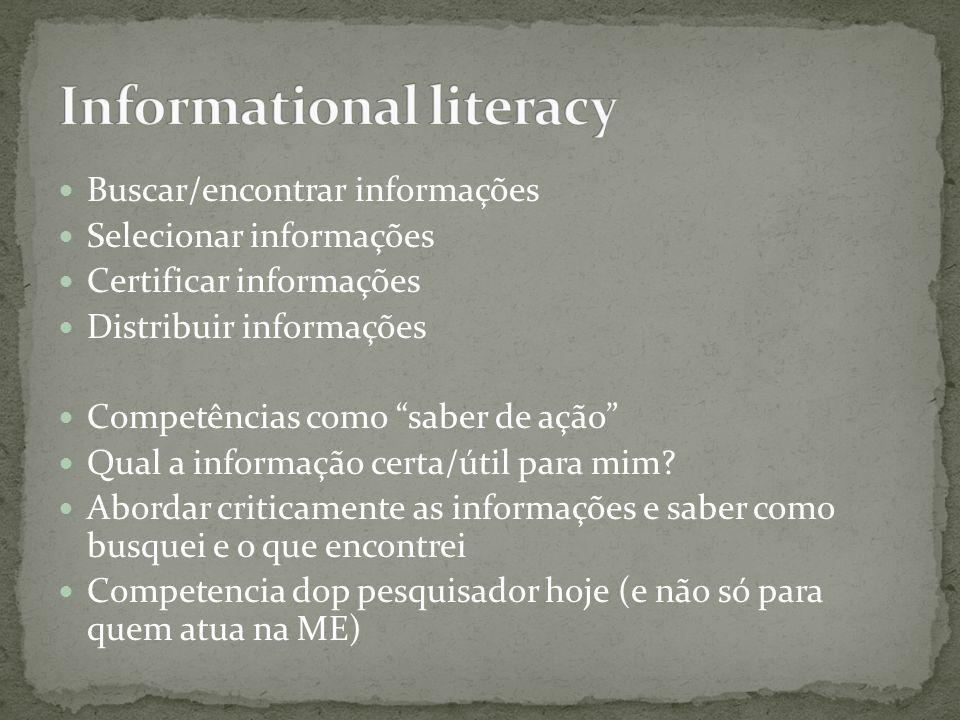 Informational literacy