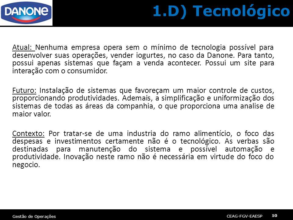 1.D) Tecnológico
