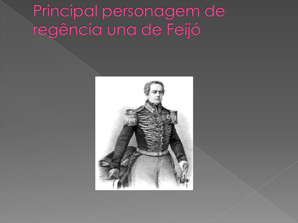 Principal personagem de regência una de Feijó