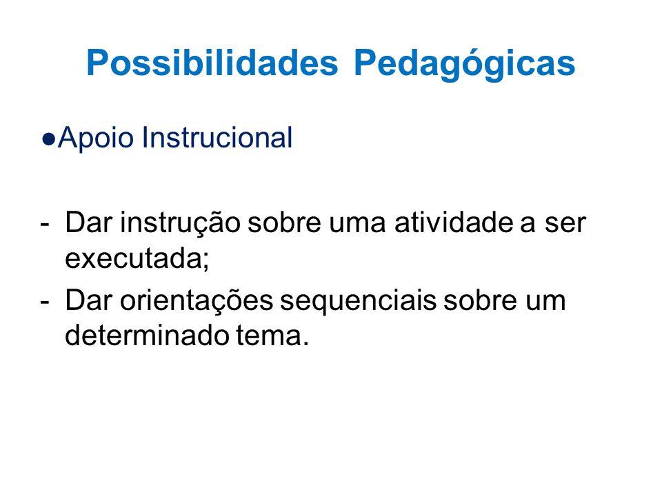 Possibilidades Pedagógicas