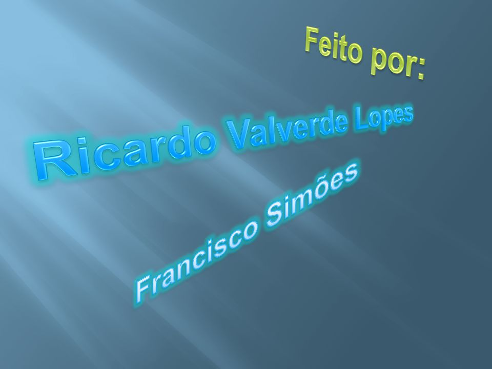 Ricardo Valverde Lopes