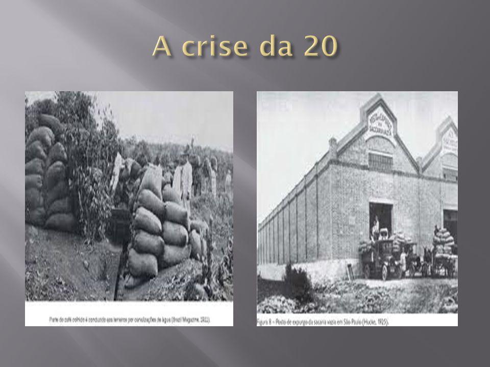 A crise da 20