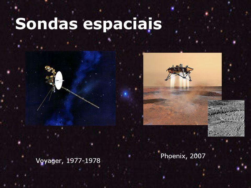 Sondas espaciais Voyager, 1977-1978 Phoenix, 2007