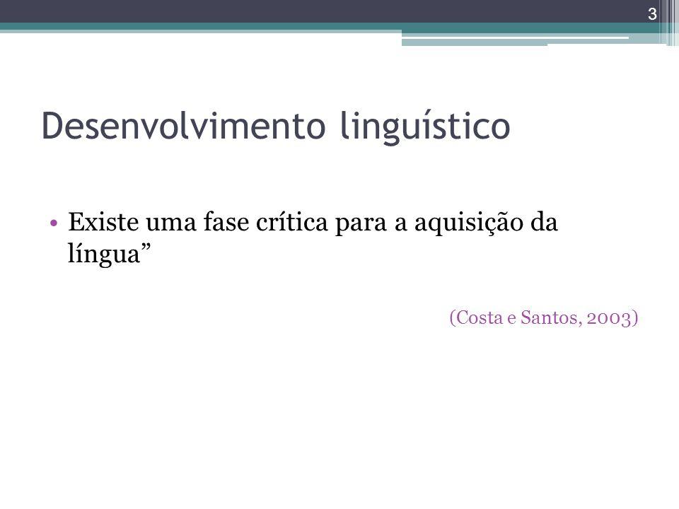Desenvolvimento linguístico