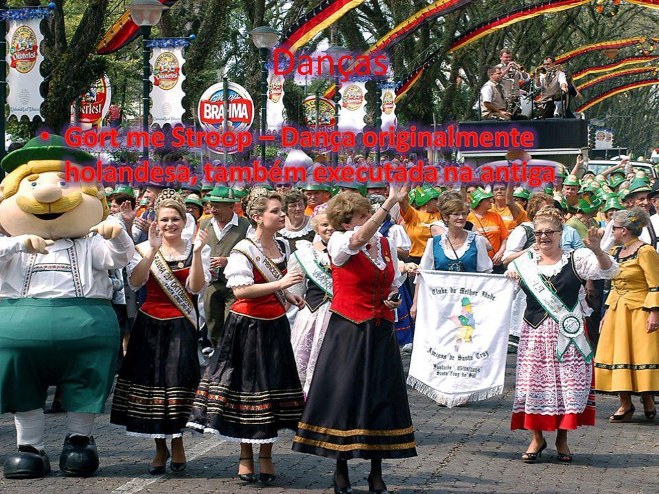 Danças Gort me Stroop – Dança originalmente holandesa, também executada na antiga