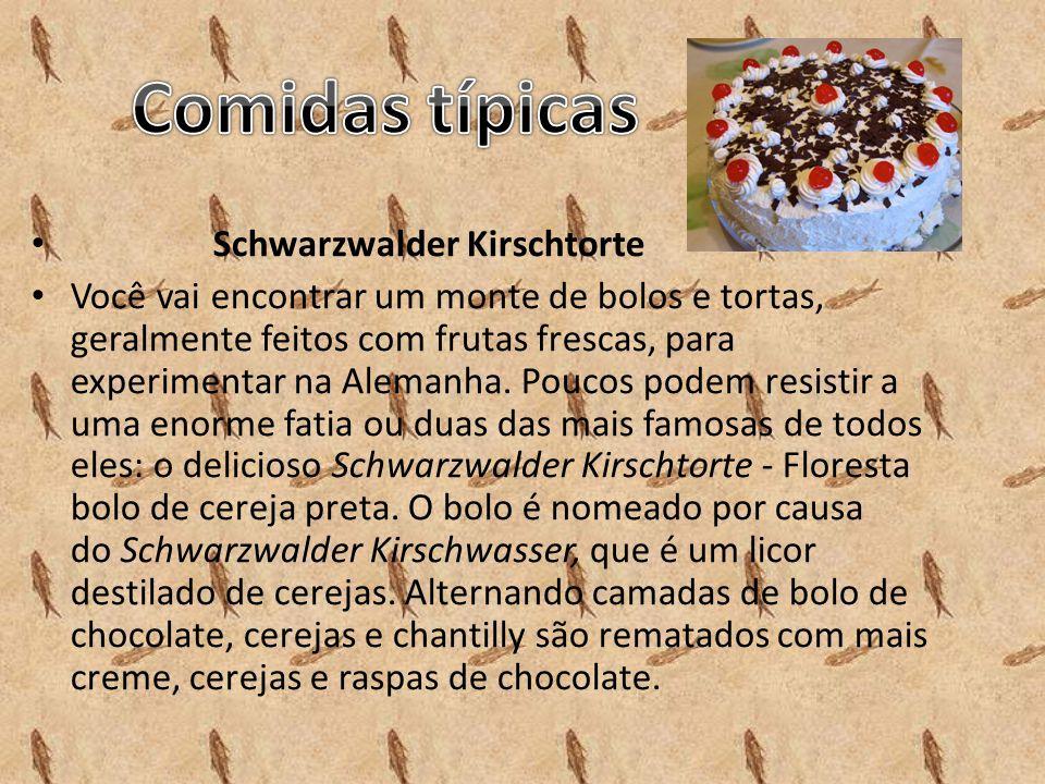 Comidas típicas Schwarzwalder Kirschtorte
