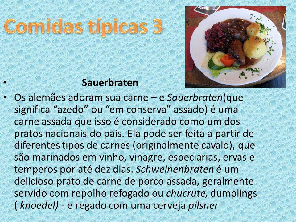 Comidas típicas 3 Sauerbraten