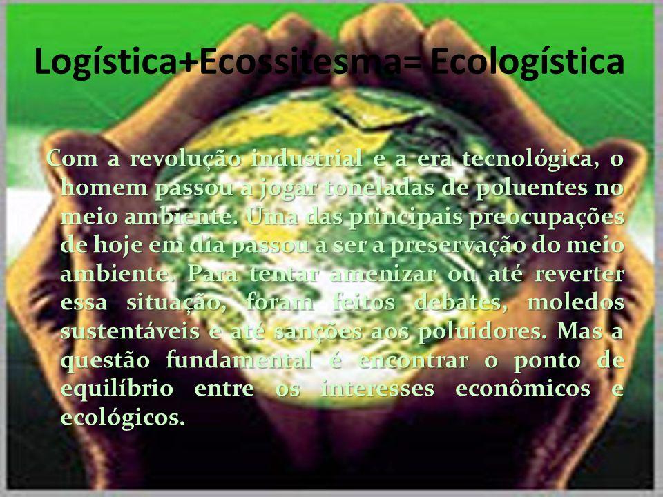 Logística+Ecossitesma= Ecologística