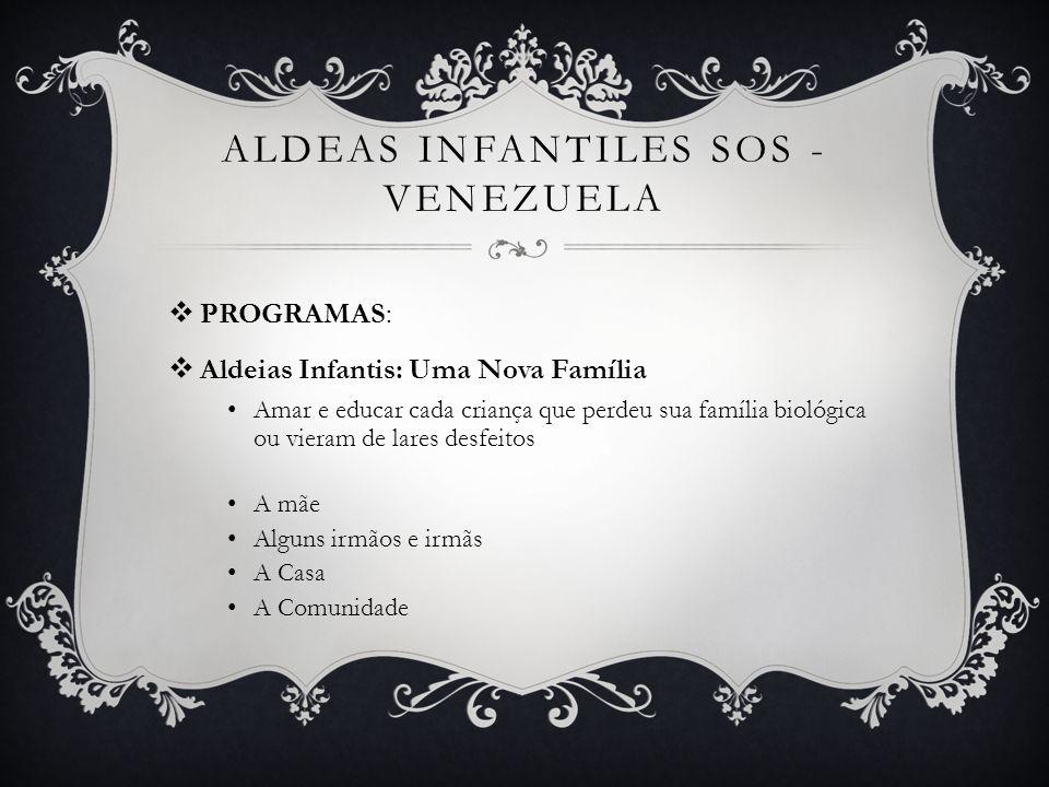 ALDEAS INFANTILES SOS - venezuela