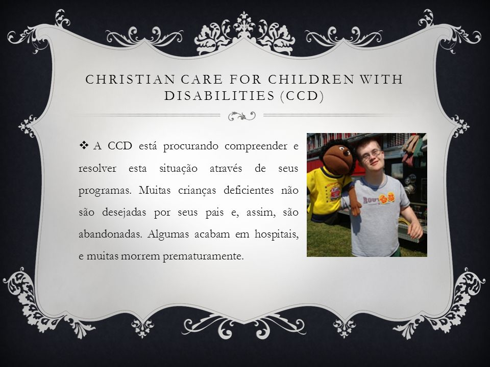 Christian Care for Children with Disabilities (CCD)