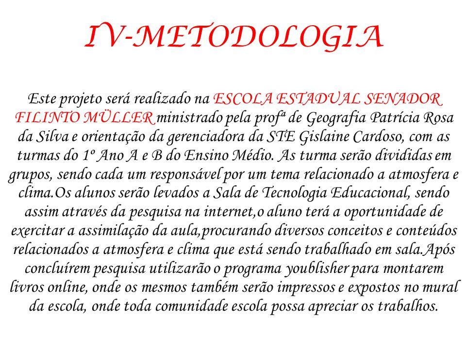 IV-METODOLOGIA